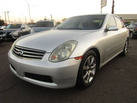 2006 Infiniti G35 for sale at More Info Skyline Auto Sales in Phoenix AZ