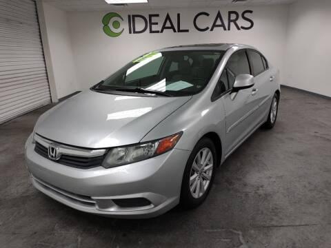 2012 Honda Civic for sale at Ideal Cars Atlas in Mesa AZ
