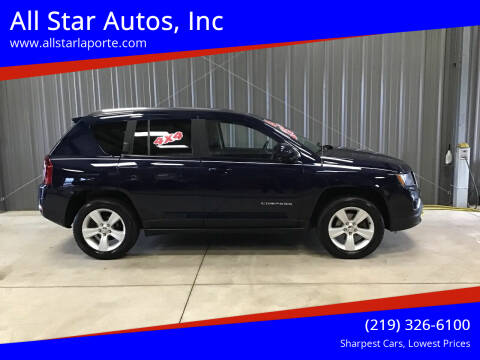 2016 Jeep COMPASS HI-ALT for sale at All Star Autos, Inc in La Porte IN