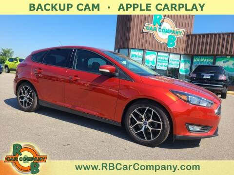 2018 Ford Focus for sale at R & B Car Co in Warsaw IN