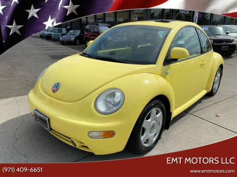 2000 Volkswagen New Beetle for sale at EMT MOTORS LLC in Portland OR