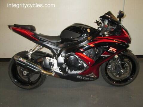 2008 Suzuki GSX-R600 for sale at INTEGRITY CYCLES LLC in Columbus OH