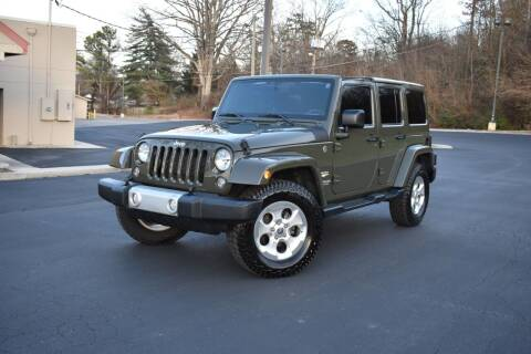2015 Jeep Wrangler Unlimited for sale at Alpha Motors in Knoxville TN