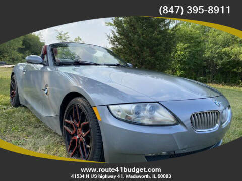 2006 BMW Z4 for sale at Route 41 Budget Auto in Wadsworth IL
