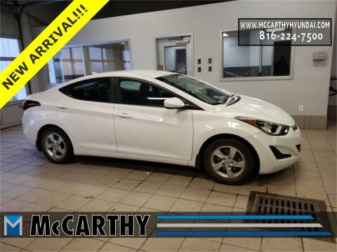 2015 Hyundai Elantra for sale at Mr. KC Cars - McCarthy Hyundai in Blue Springs MO