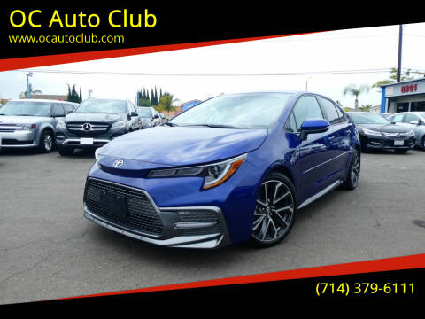 2020 Toyota Corolla for sale at OC Auto Club in Midway City CA