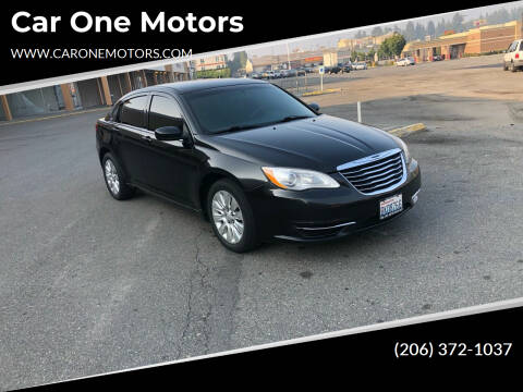 2013 Chrysler 200 for sale at Car One Motors in Seattle WA