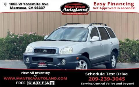 2004 Hyundai Santa Fe for sale at Manteca Auto Land in Manteca CA