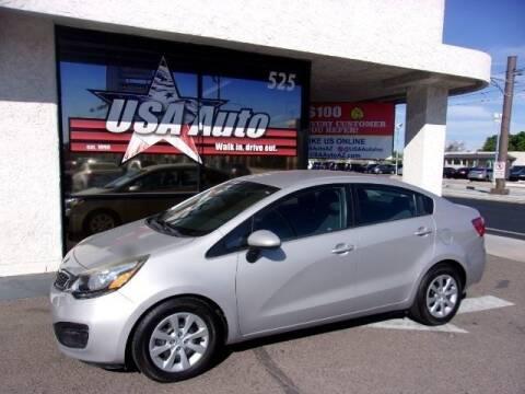 2015 Kia Rio for sale at USA Auto Inc in Mesa AZ