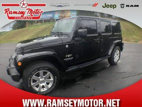 2017 Jeep Wrangler Unlimited for sale at RAMSEY MOTOR CO in Harrison AR