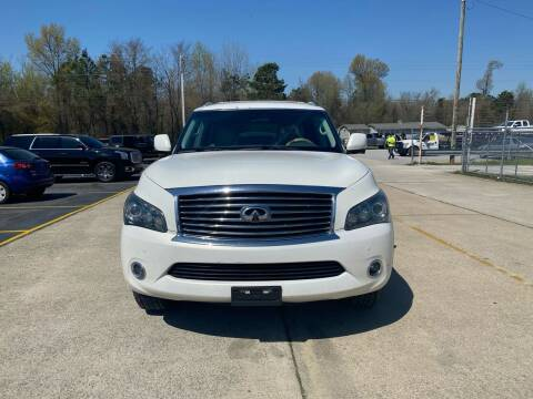 2012 Infiniti QX56 for sale at Tennessee Valley Wholesale Autos LLC in Huntsville AL