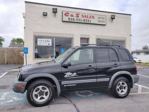 2003 Chevrolet Tracker for sale at C & S SALES in Belton MO