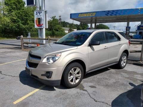 2012 Chevrolet Equinox for sale at 100 Motors in Bechtelsville PA