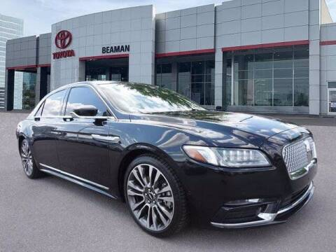2017 Lincoln Continental for sale at BEAMAN TOYOTA in Nashville TN