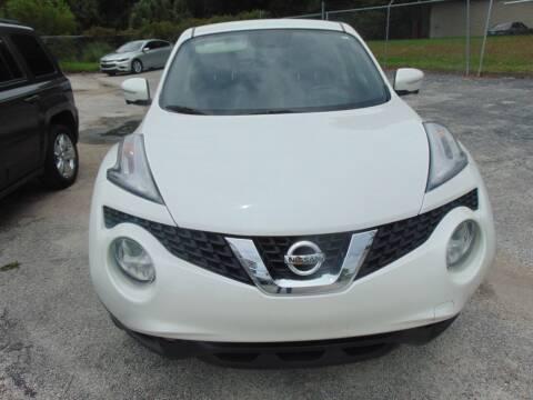 2015 Nissan JUKE for sale at Payday Motor Sales in Lakeland FL