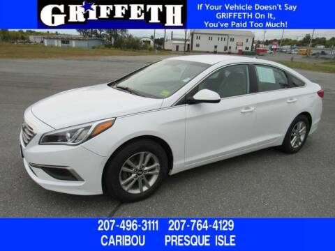 2017 Hyundai Sonata for sale at Griffeth Mitsubishi - Pre-owned in Caribou ME