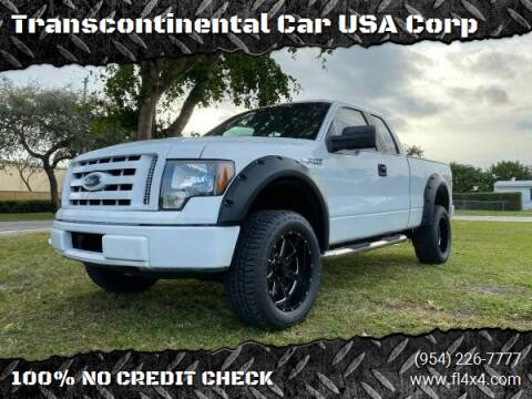 2009 Ford F-150 for sale at Transcontinental Car USA Corp in Fort Lauderdale FL