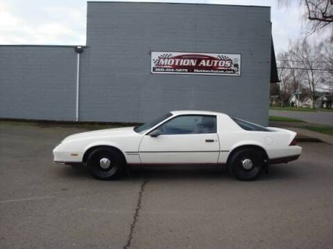 1987 Chevrolet Camaro for sale at Motion Autos in Longview WA