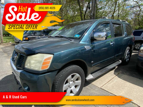 2004 Nissan Armada for sale at A & R Used Cars in Clayton NJ