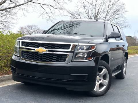 2015 Chevrolet Tahoe for sale at William D Auto Sales in Norcross GA