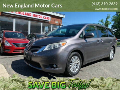 2011 Toyota Sienna for sale at New England Motor Cars in Springfield MA