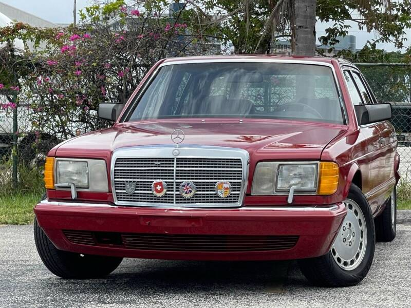 1991 Mercedes-Benz 420-Class for sale in Hollywood, FL