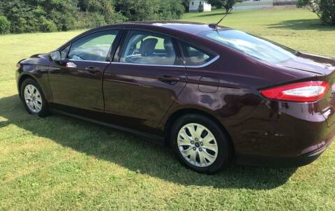 2013 Ford Fusion for sale at CESSNA MOTORS INC in Bedford PA