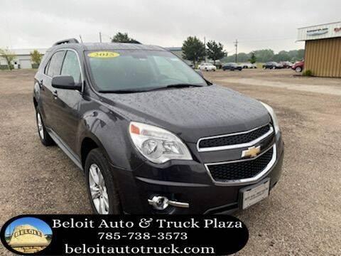 2015 Chevrolet Equinox for sale at BELOIT AUTO & TRUCK PLAZA INC in Beloit KS