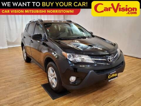 2015 Toyota RAV4 for sale at Car Vision Mitsubishi Norristown in Trooper PA