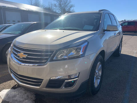 2013 Chevrolet Traverse for sale at Blake Hollenbeck Auto Sales in Greenville MI