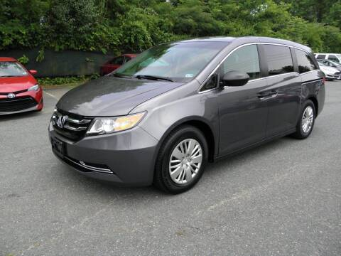 2017 Honda Odyssey for sale at Dream Auto Group in Dumfries VA