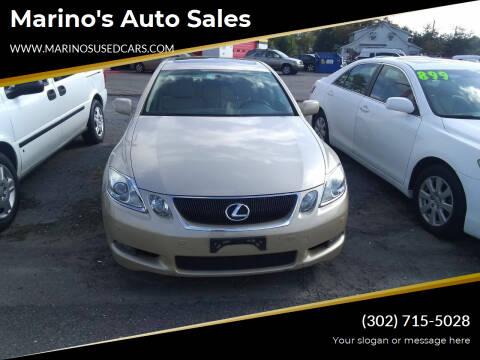 2006 Lexus GS 300 for sale at Marino's Auto Sales in Laurel DE