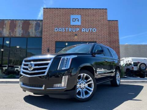 2015 Cadillac Escalade for sale at Dastrup Auto in Lindon UT