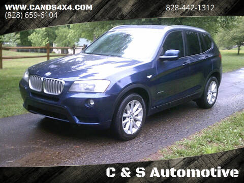 2013 BMW X3 for sale at C & S Automotive in Nebo NC