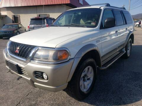 2000 Mitsubishi Montero Sport for sale at Salem Auto Sales in Salem VA
