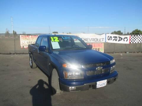 2012 Chevrolet Colorado for sale at Quick Auto Sales in Modesto CA