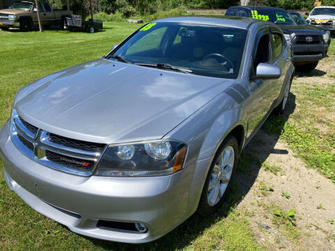 2013 Dodge Avenger for sale at Richard C Peck Auto Sales in Wellsville NY