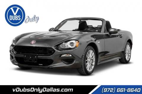 2017 FIAT 124 Spider for sale at VDUBS ONLY in Dallas TX