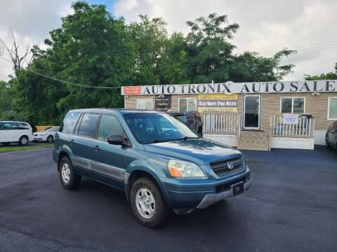 2005 Honda Pilot for sale at Auto Tronix in Lexington KY