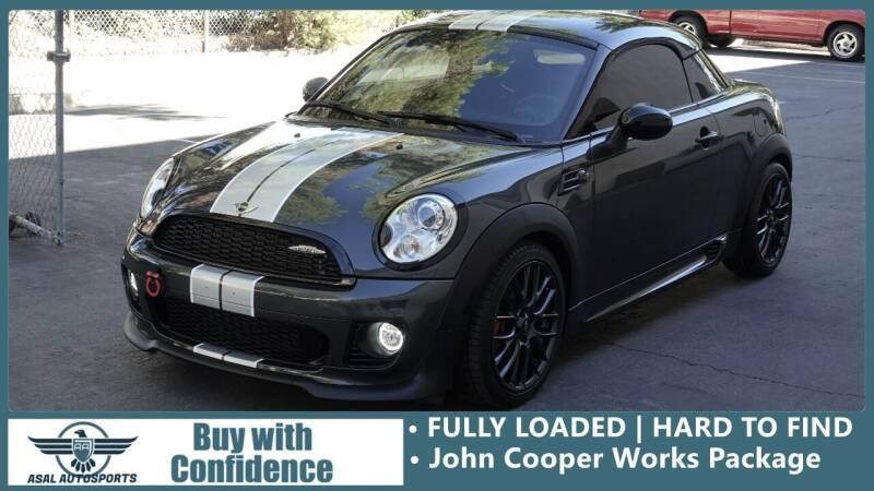 2015 MINI Coupe for sale at ASAL AUTOSPORTS in Corona CA