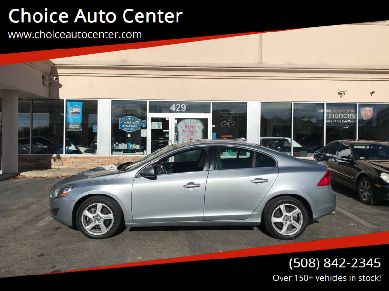 2013 Volvo S60 for sale at Choice Auto Center in Shrewsbury MA
