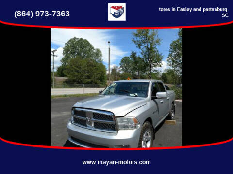 2010 Dodge Ram Pickup 1500 for sale at Mayan Motors Easley in Easley SC