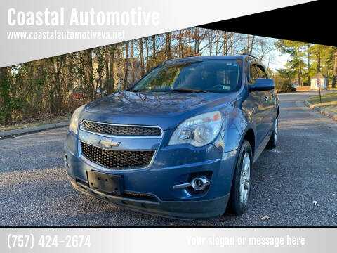 2012 Chevrolet Equinox for sale at Coastal Automotive in Virginia Beach VA
