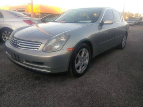 2003 Infiniti G35 for sale at JacksonvilleMotorMall.com in Jacksonville FL