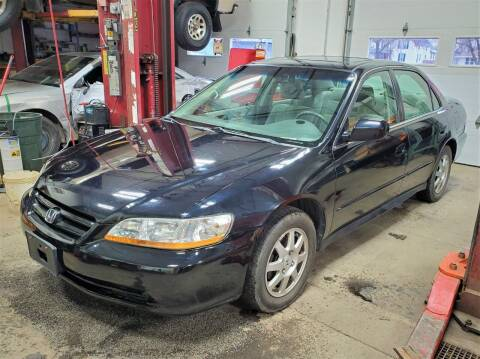2002 Honda Accord for sale at Ericson Auto in Ankeny IA