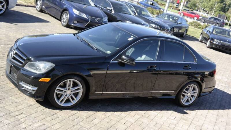 2013 Mercedes-Benz C-Class for sale at Cars-KC LLC in Overland Park KS