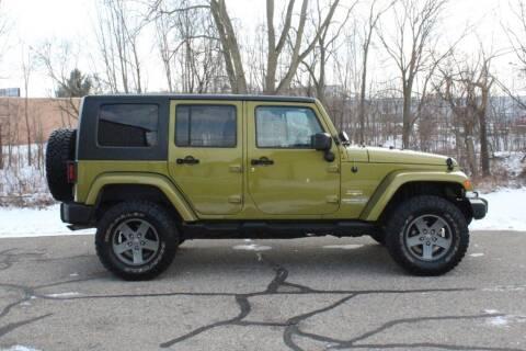 2008 Jeep Wrangler Unlimited for sale at S & L Auto Sales in Grand Rapids MI