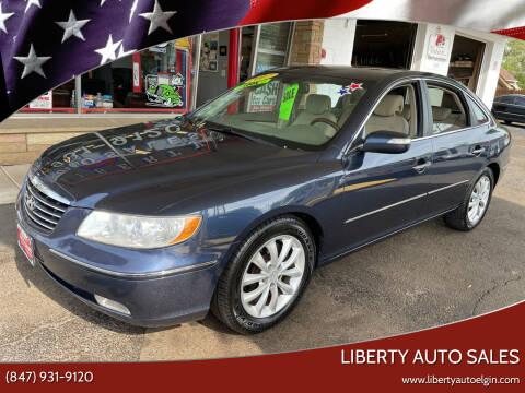 2007 Hyundai Azera for sale at Liberty Auto Sales in Elgin IL