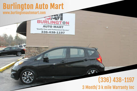 2015 Nissan Versa Note for sale at Burlington Auto Mart in Burlington NC