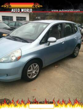 2007 Honda Fit for sale at Auto World in Carbondale IL